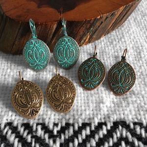 Old West Filigree Earrings